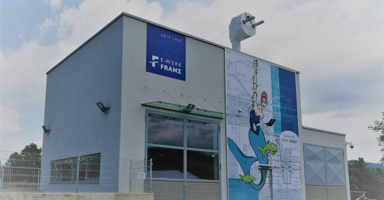 Krafthaus Murkraftwerk Franz